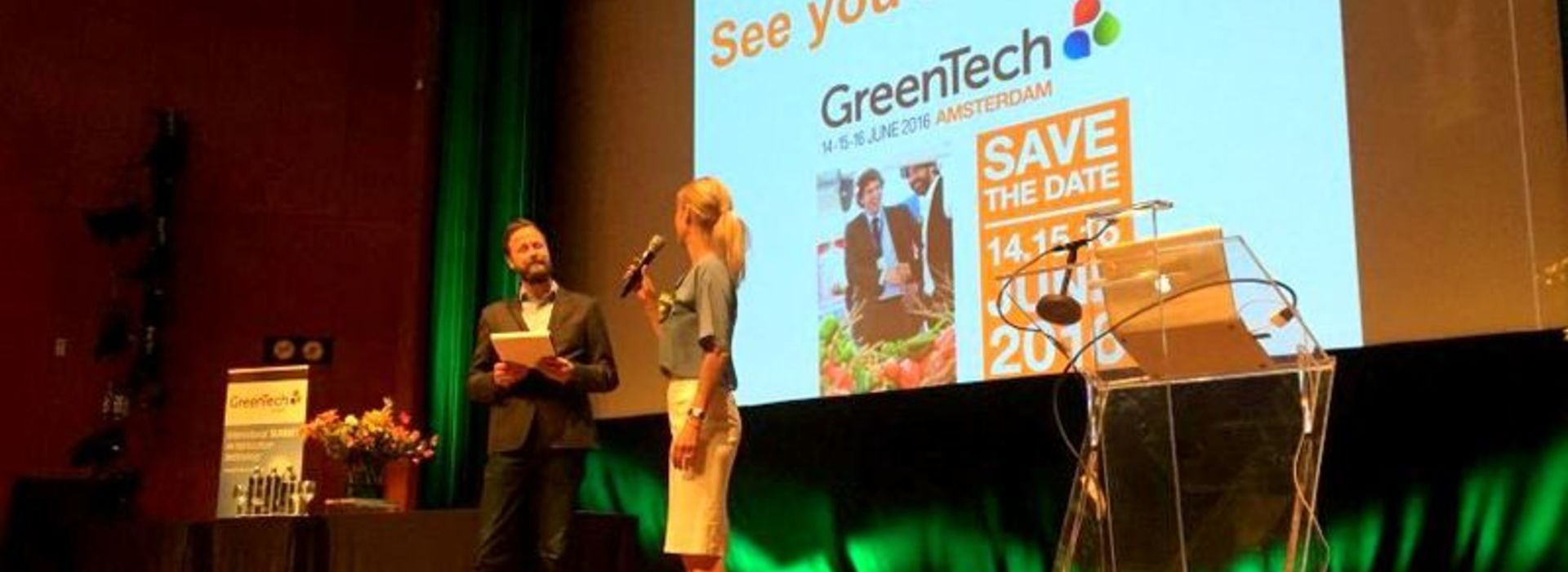 RAI Amsterdam: Greentech Summit 2015
