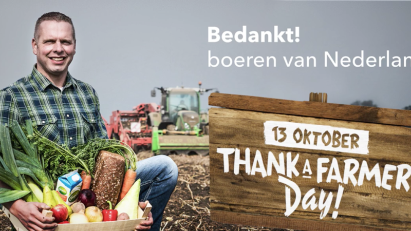 A big 'thank you' to our Farmers!