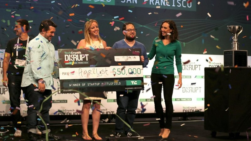 Ag-tech Startup Agrilyst (USA) wint Techcrunch Disrupt SF 2015